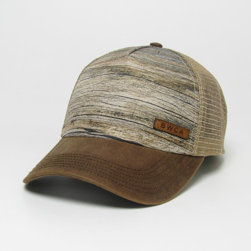 BWCA Structured Hat w/Engraved Leather Patch / 2 colors - 190136116000