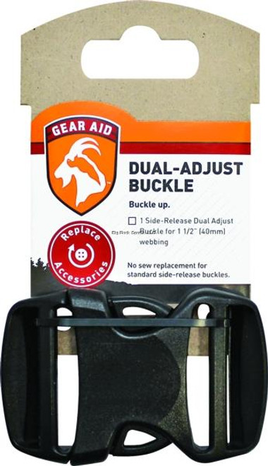 Gear Aid Dual-Adjust Buckle -  1.5 inches -