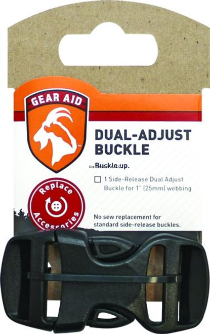 Gear Aid Dual Adjust Buckle - 1 inch -