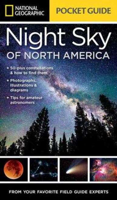 National Geographic Night Sky of North America Pocket Guide - 9781426217852