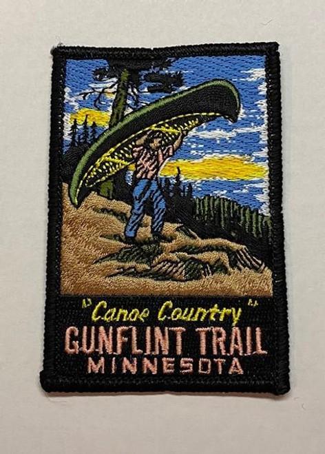 Patch - Gunflint Trail Retro -