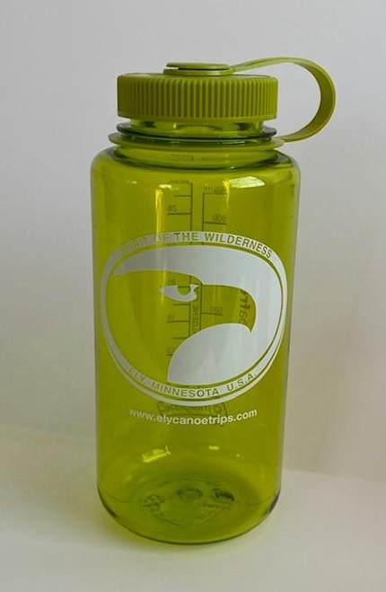 Nalgene Wide-Mouth Bottle 32oz / Spring Green w/green lid -