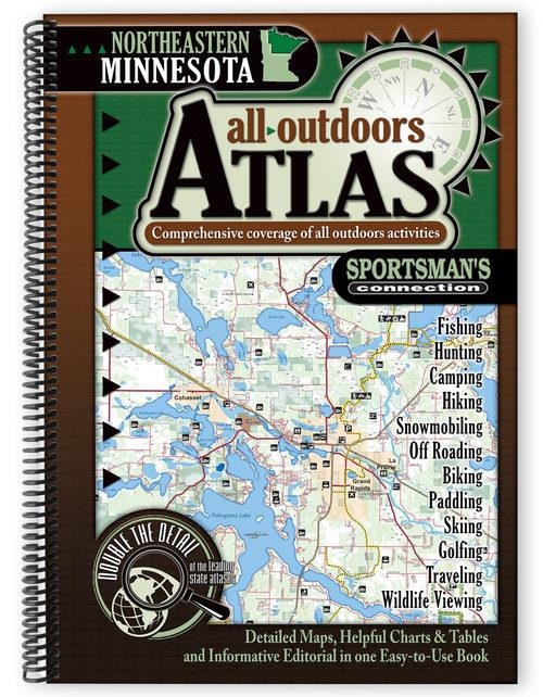 Sportsman's Connection Northeastern MN All Outdoors Atlas - 790175001314