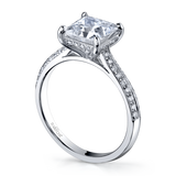 Vatche Caroline for Princess with Pave Engagement Ring 190