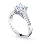 Vatche Caroline with Channel Rounds Engagement Ring 197