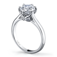 Vatche Swan Engagement Ring 191