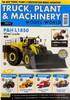 Truck, Plant & Machinery Magazine - Summer 2020 - Issue No: 04