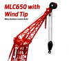 Manitowoc MLC650 Crawler with WIND TIP