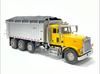 East Genesis Dump on Peterbilt 357 - Yellow