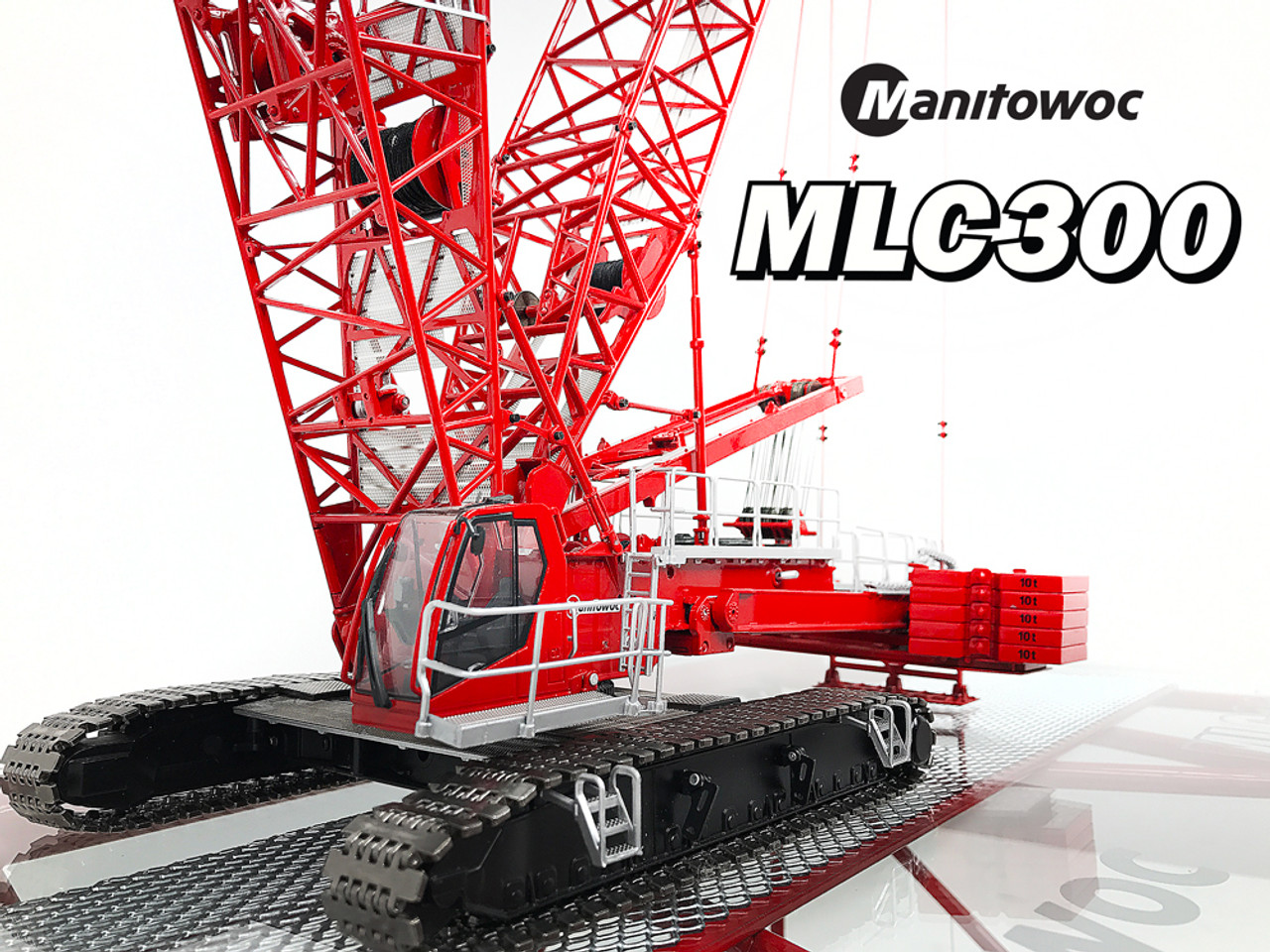 1 50 Manitowoc Mlc300 Crawler Crane Diecast Scale Model
