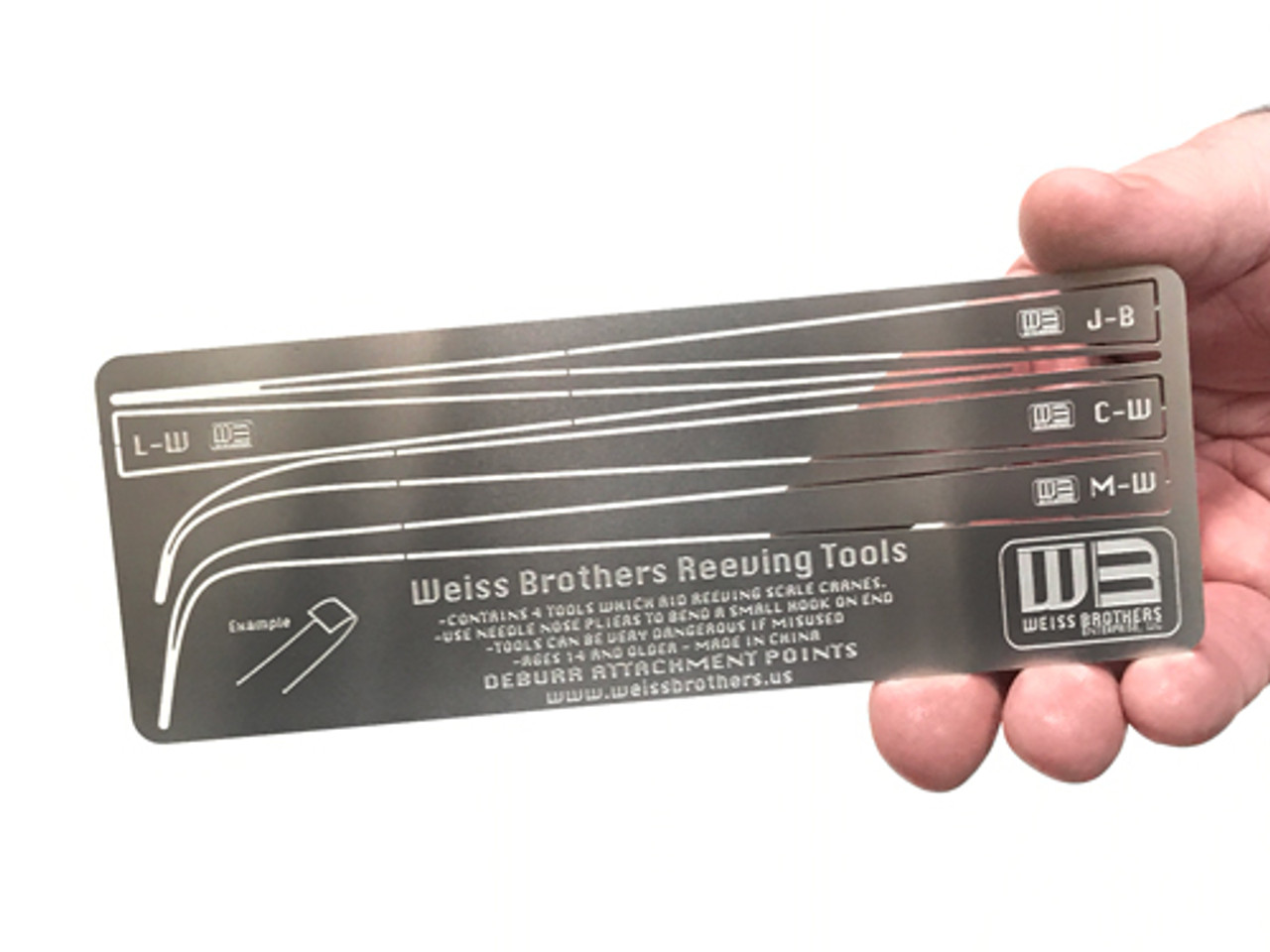 Weiss Brother Reeving Tool kit