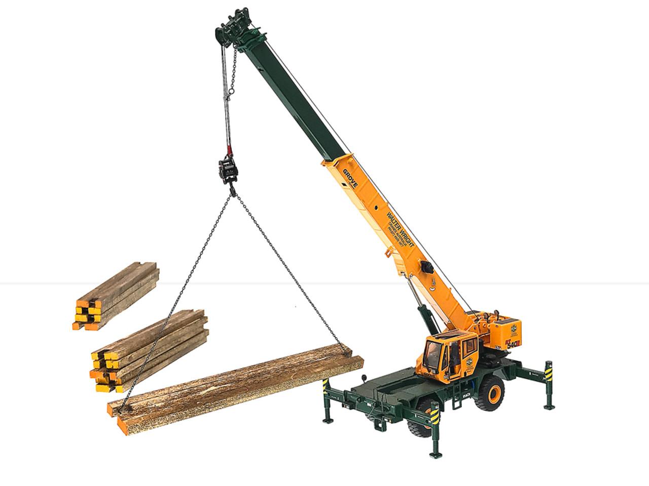 Wooden Crane Mats - 10 qty
