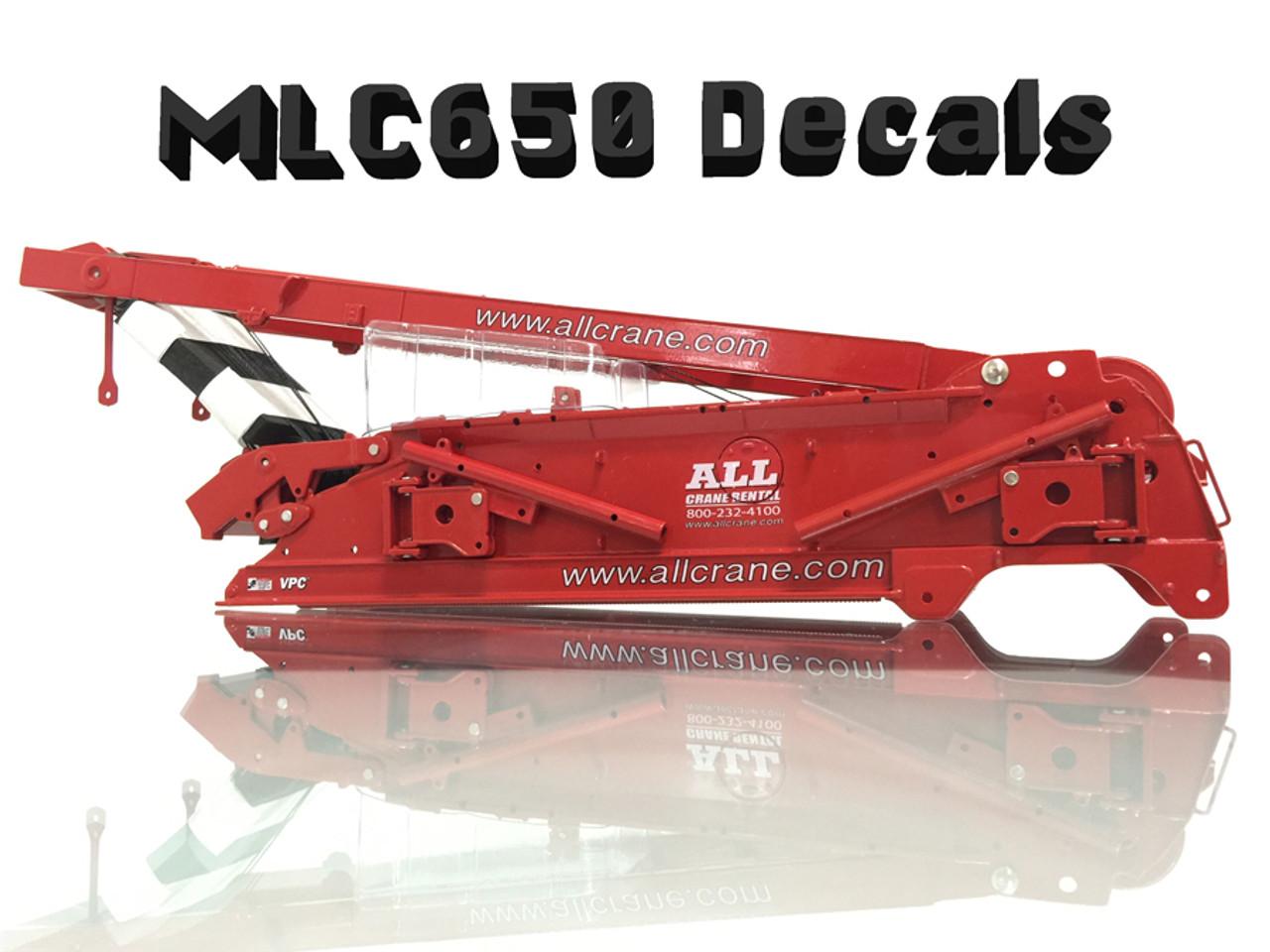MLC650 Decals