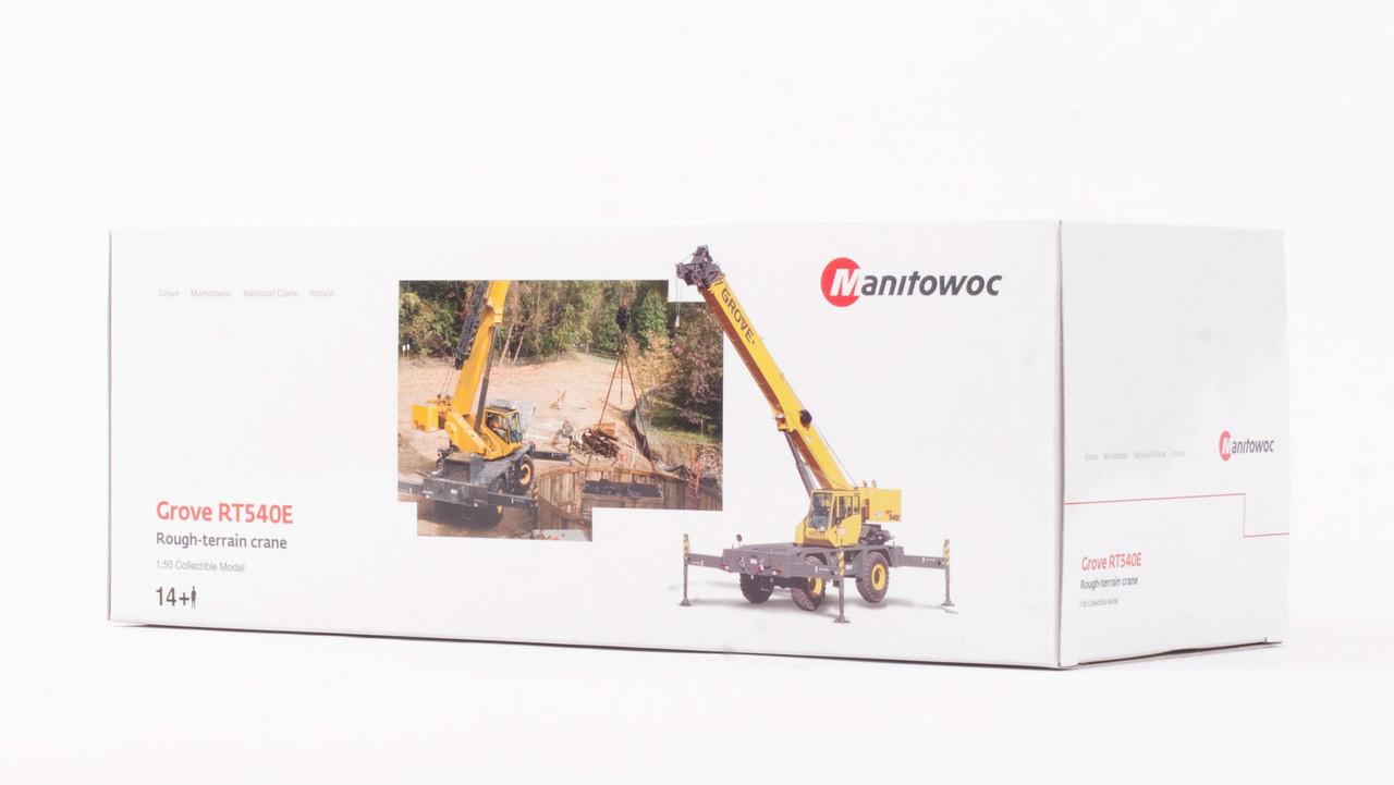 Grove RT540E Rough Terrain Hydraulic Crane