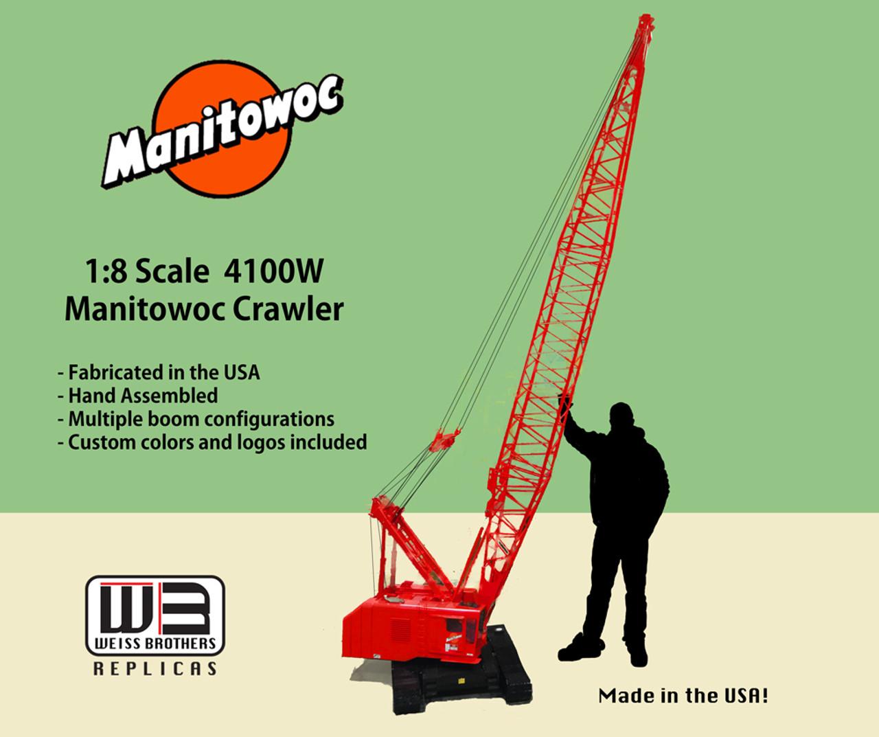 Massive 1:8th Scale Manitowoc 4100 Crawler