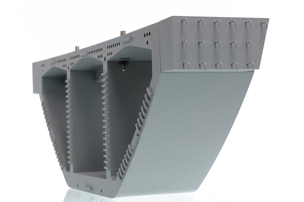 Precast Bridge Box Girder comes with realistic rebar