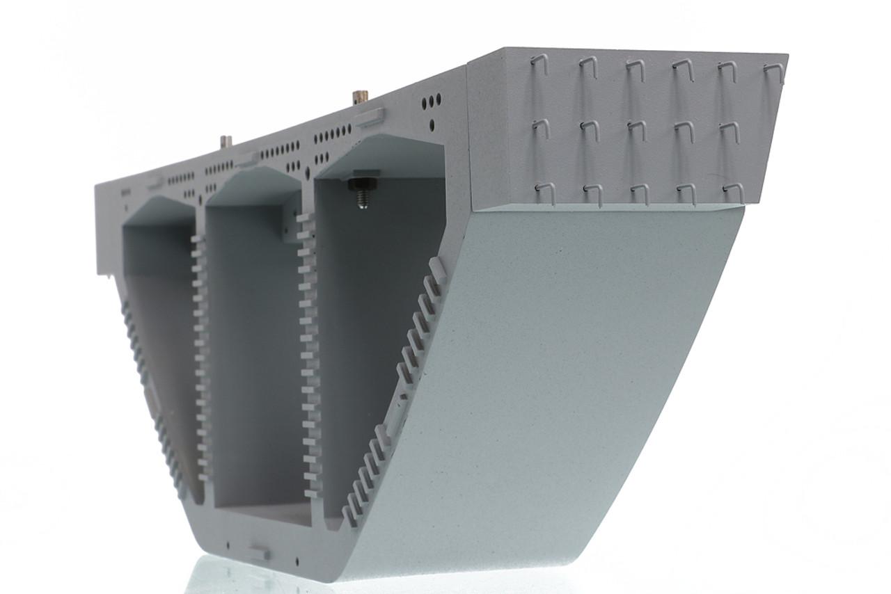 Precast Bridge Box Girder comes with realistic rebar