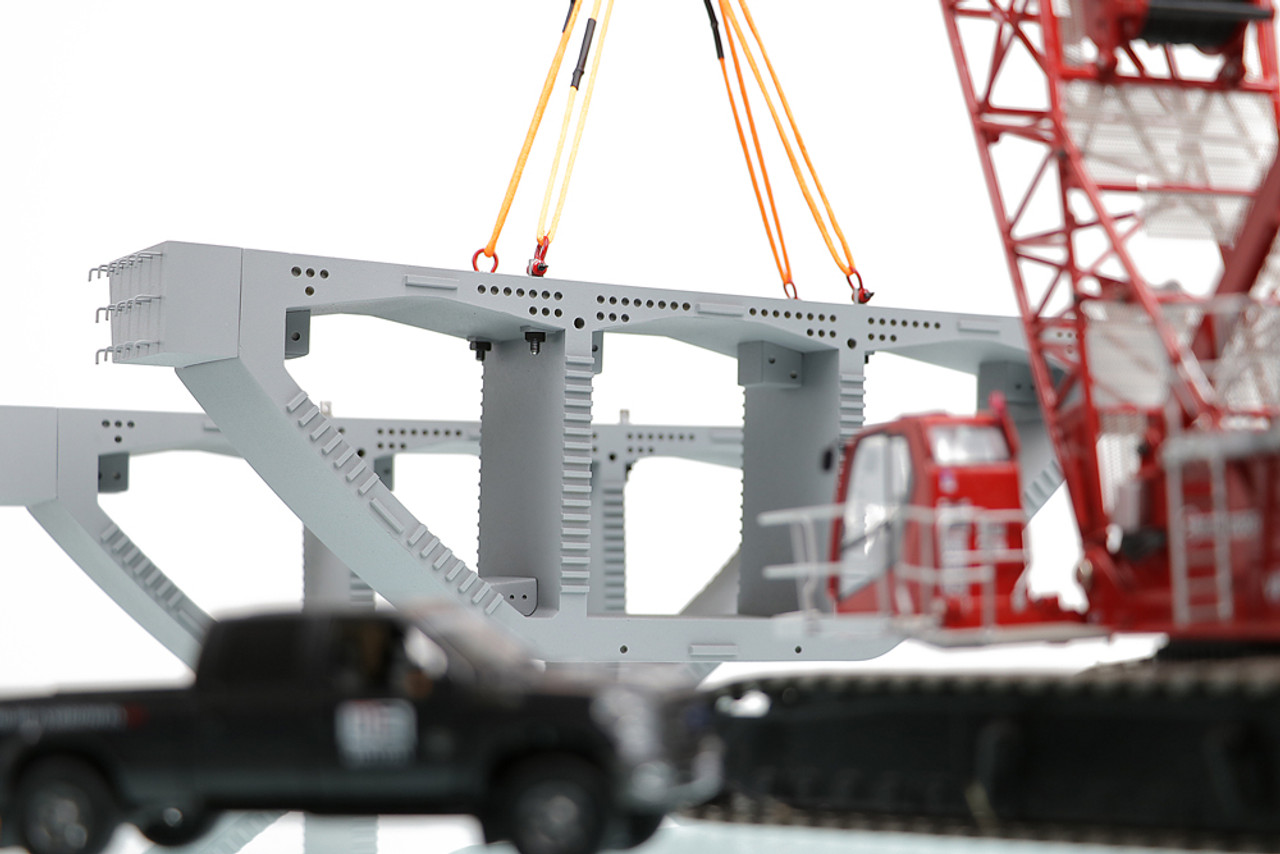 Precast Bridge Box Girder is a great load to pair with the MLC300