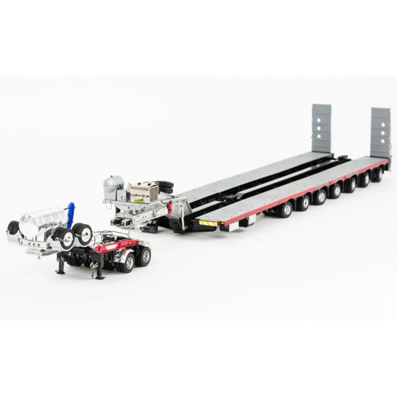 1:50 scale diecast model of Drake 2x8 Dolly and 7x8 Steerable Low Loader Trailer in NHH Livery