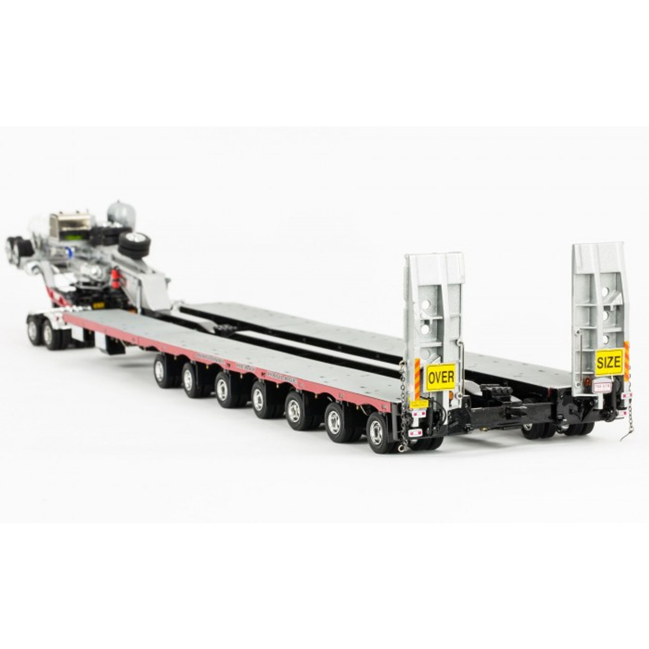 Drake 2x8 Dolly and 7x8 Steerable Low Loader Trailer in NHH Livery