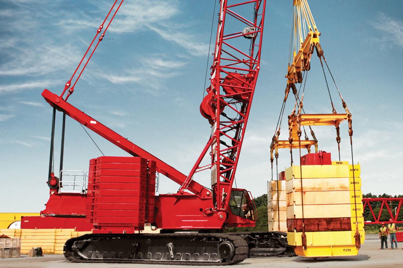 Manitowoc MLC300 Crawler Crane with VPC real crane