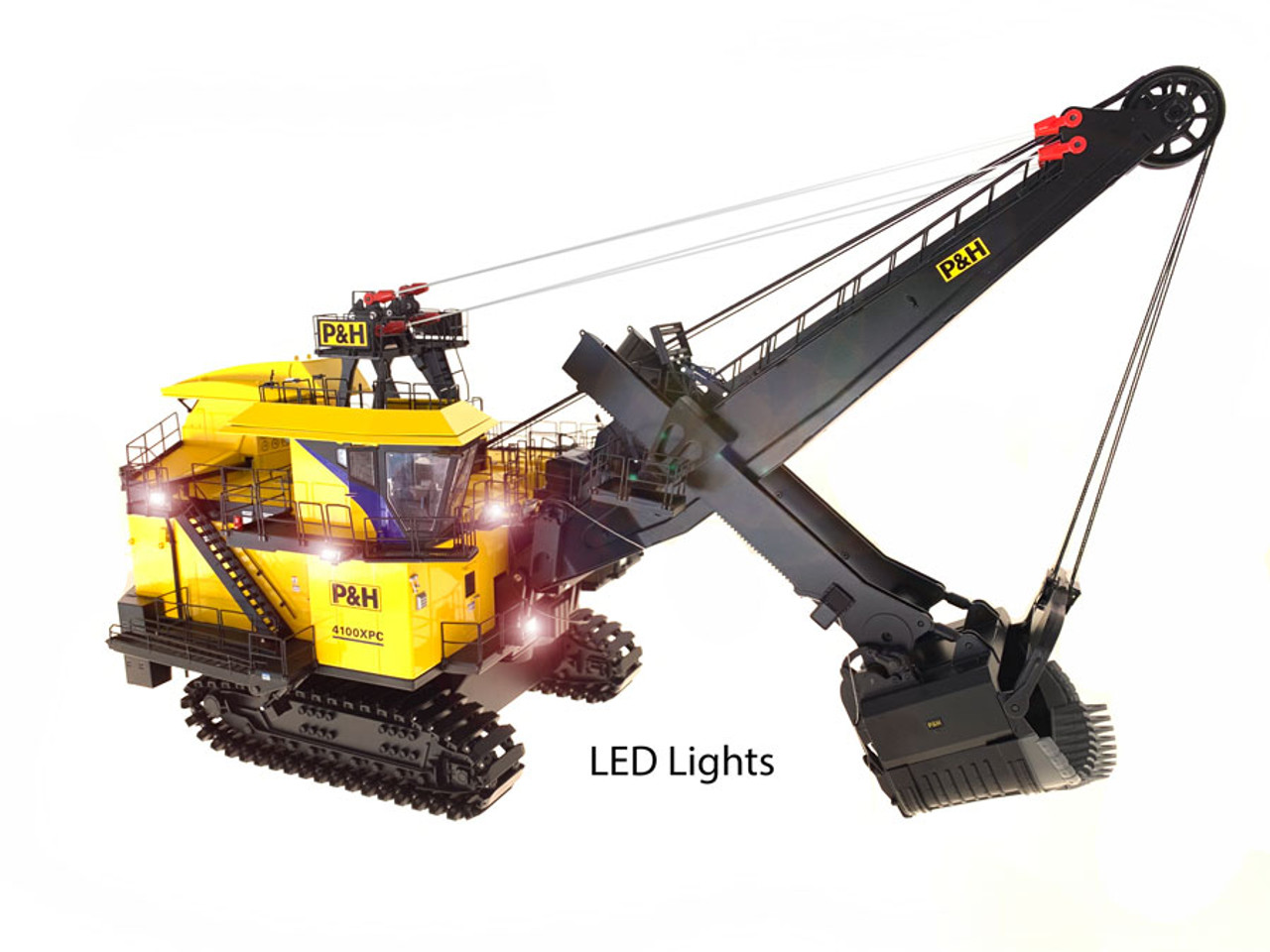 P&H 4100XPC - 1:50 scale