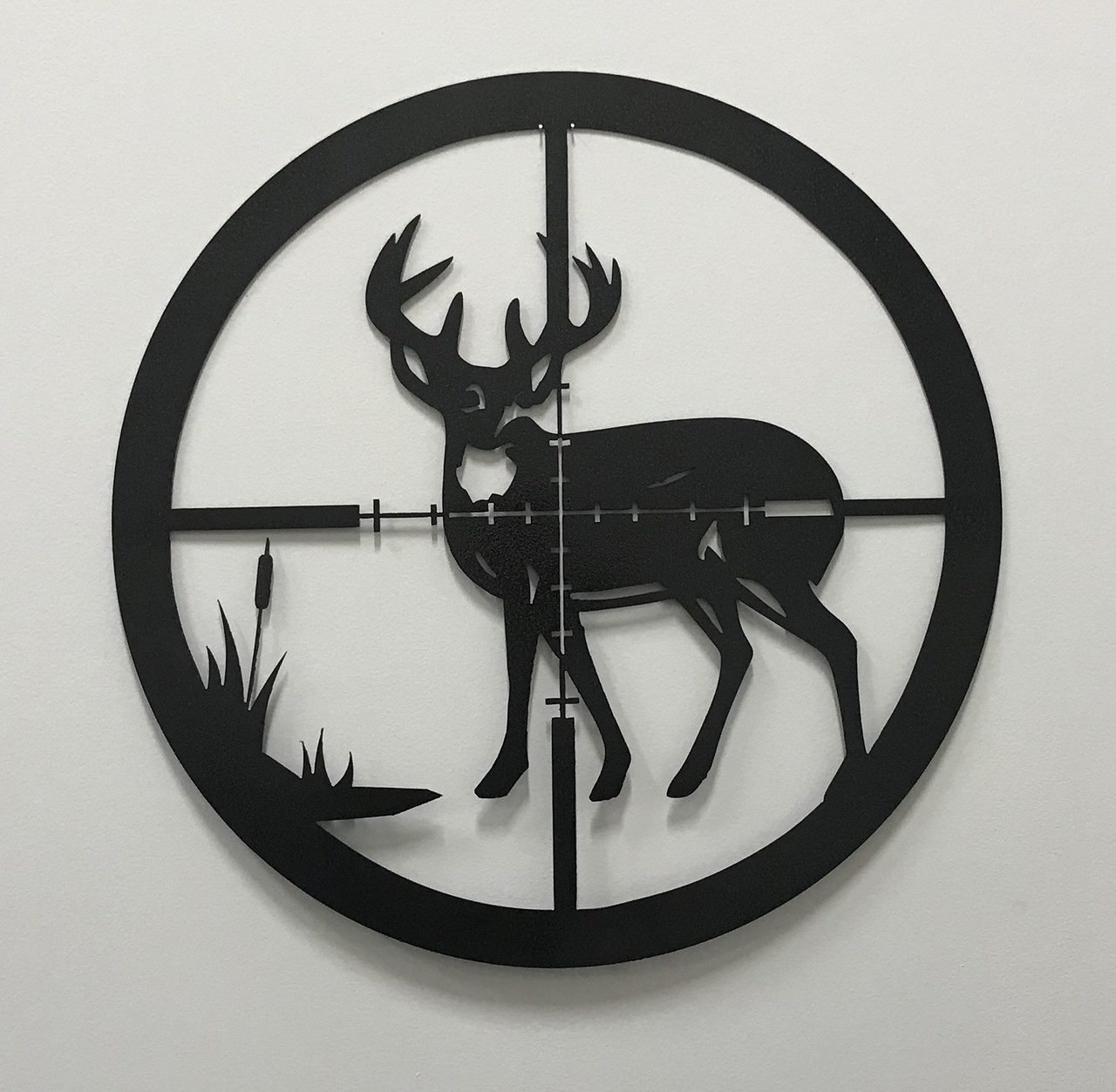 Deer Hunting Sign