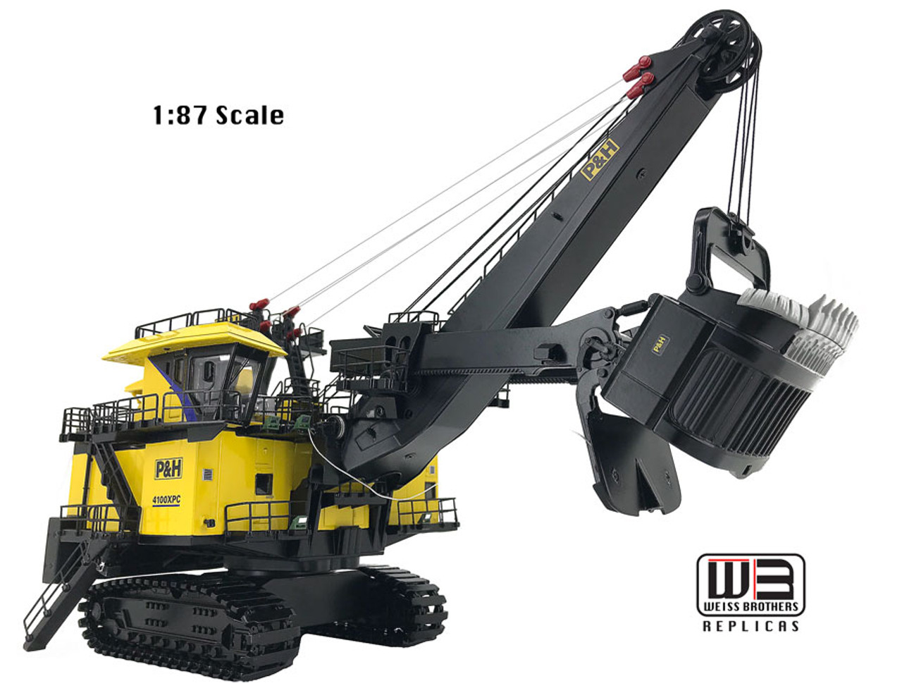 P&H 4100XPC - 1:87 scale - Weiss Brothers