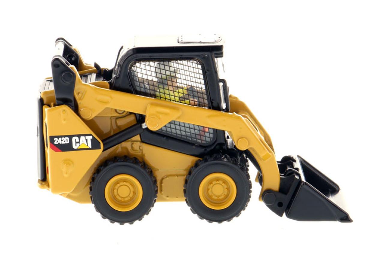 Caterpillar 242D Compact Skid Steer Loader