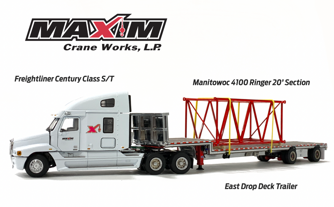 Maxim Freightliner Century and East Drop Deck