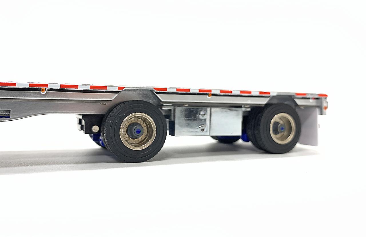 East Drop Deck - Aluminum/Blue
