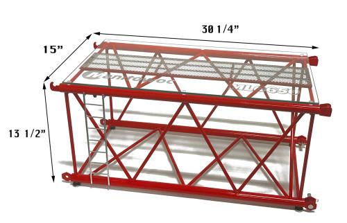MLC650 Display Table Dimensions