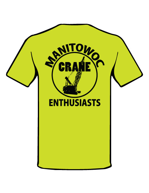 Manitowoc Crane Enthusiast short sleeve shirt with POCKET - IN STOCK