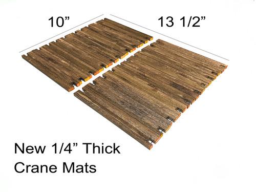 Wooden Crane Mats - 20 qty