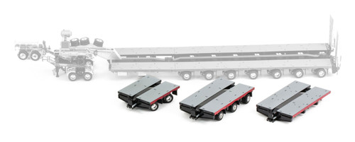 1:50 diecast scale model of Drake Steerable Low Loader Trailer Accessory Kit in NHH Livery