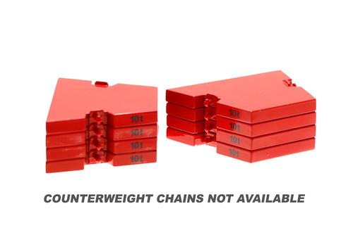 MLC300 Series 3 Counterweights