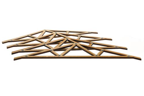 Laser Cut Wooden Trusses Version 1