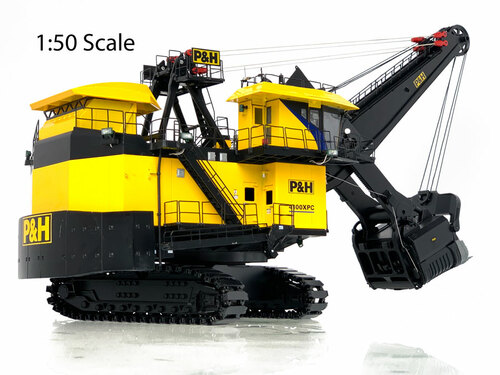 P&H 4100XPC - 1:50 Scale