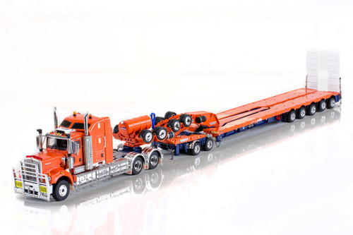 KENWORTH C509, 2X8 DOLLY AND 5X8 SWINGWING Drake