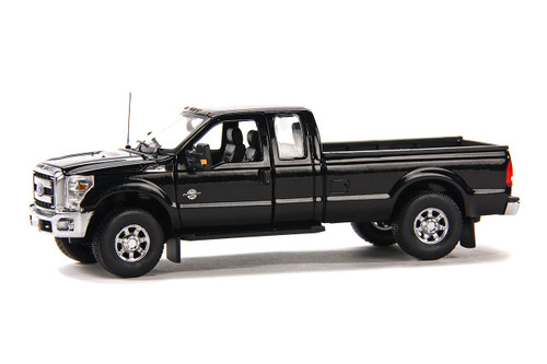 Ford F250 Pickup Truck w/Super Cab & 8ft Bed - Black/Chrome