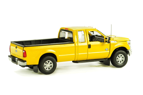 Ford F250 Pickup Truck w/Super Cab & 8ft Bed - Yellow