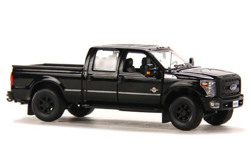 Ford F250 Pickup Truck w/Crew Cab & 6ft Bed - Black/Black