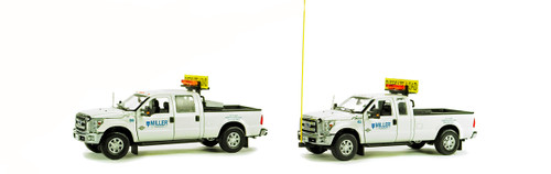 Ford F250 Pickup Truck Escort Set - Miller Transfer