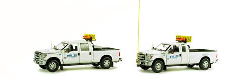 Ford F250 Pickup Truck Escort Set - Miller Transfer