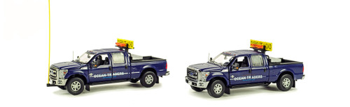 Ford F250 Pickup Truck Escort Set - Ocean Traders