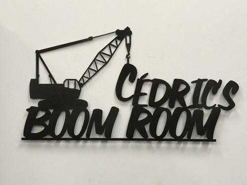 Cedric's Boom Room