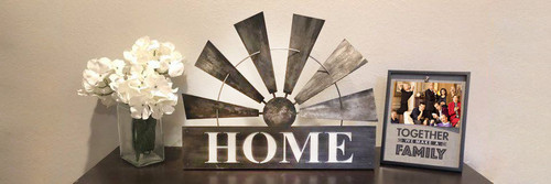 Windmill Home Art