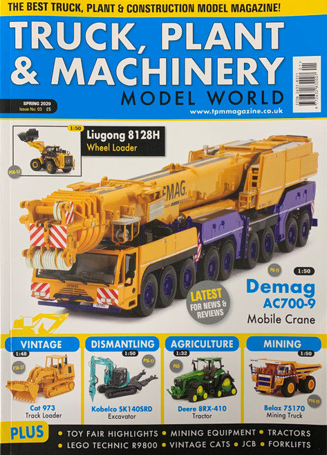 Truck, Plant & Machinery Magazine - Spring 2020 - Issue No: 03