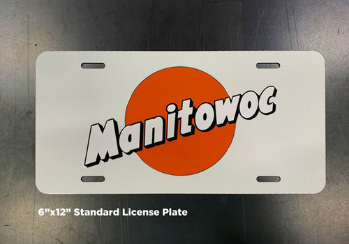 Manitowoc License Plate