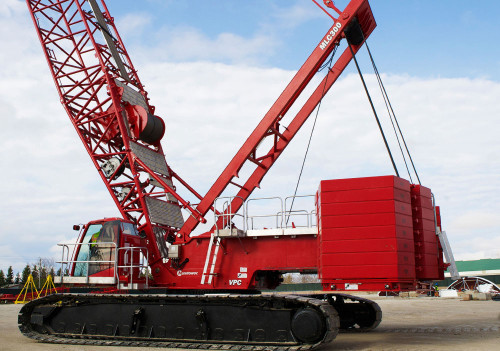 Manitowoc MLC300 Crawler Crane with VPC real crane